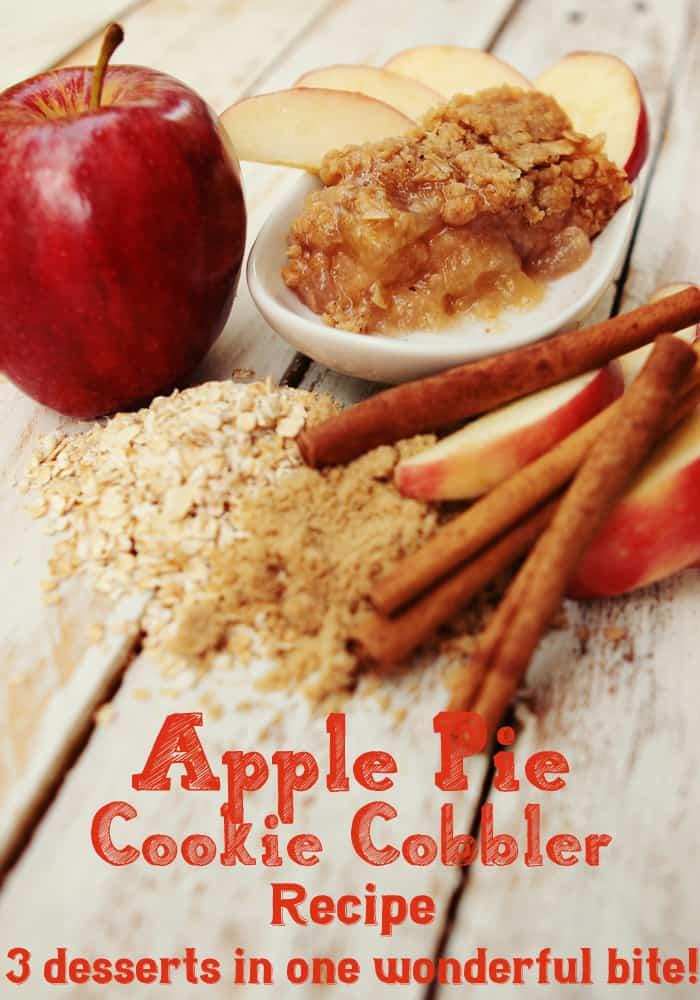 apple pie cookie cobble large pinnable