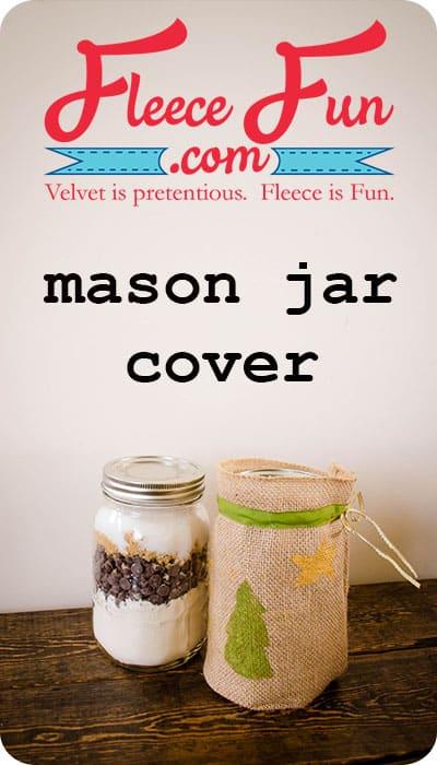 Neighbor gift idea Mason Jar Cover