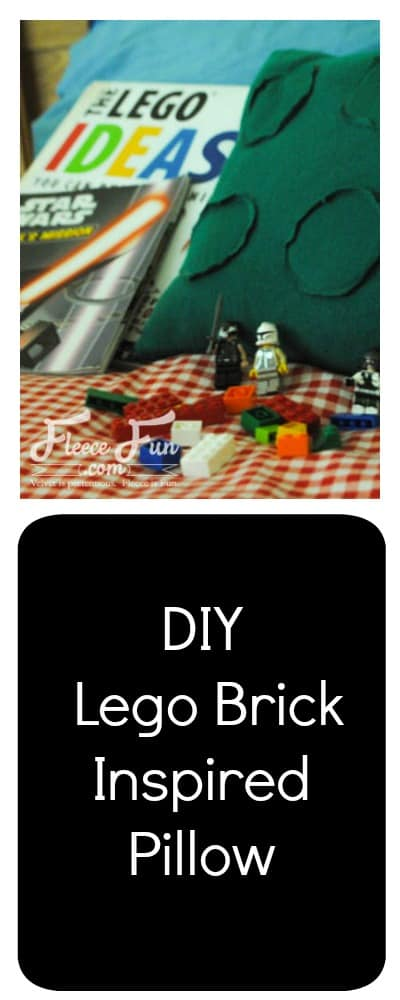 I love this Lego inspired pillow tutorial!  Great DIY sewing project.  Love this pillow DIY  for boys ( or girls) that love Legos!