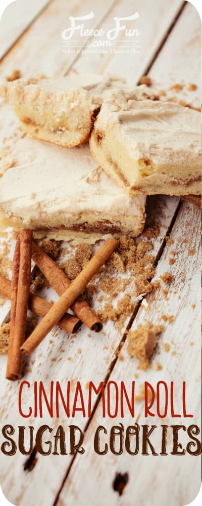 Breafast for dessert? Yes please! This recipe looks sooo yummy. I love anything cinnamon with frosting!