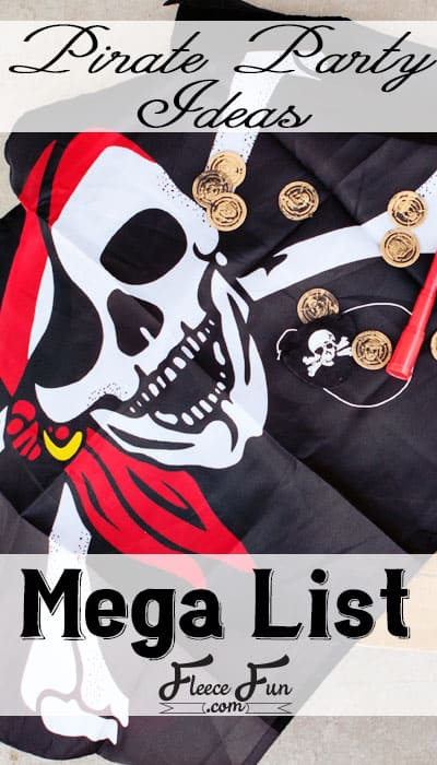 Avast me hearties! There be fun ahead. These pirate party ideas are what you need to play like a pirate with these great pirate party ideas that any captain would love! I have pirate party games, printables and other fun ideas to make your pirate party a swash buckling success!