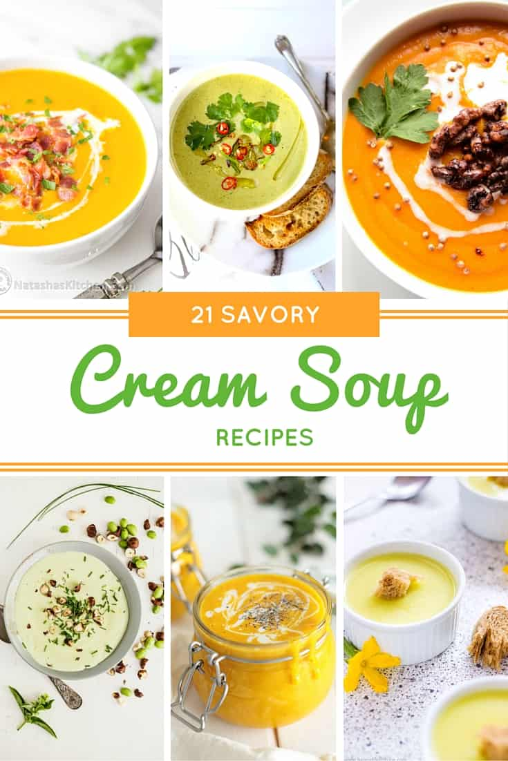 I love this collection of creamy soup recipes for fall!