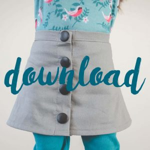 I love this free sewing pattern for an 18 inch doll. This is such a cute skirt tutorial for my little one's American Girl Doll! Wonderful sewing project and Handmade gift ideas for girls, american girl doll clothes diy.