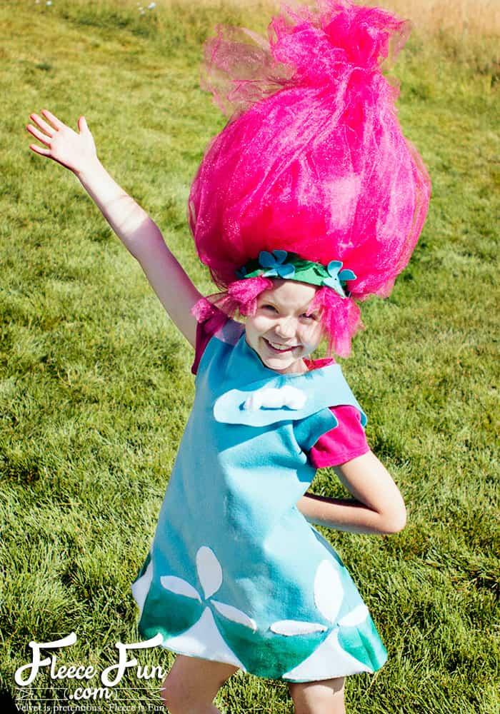 Princess Poppy – New Costume inspired by Trolls