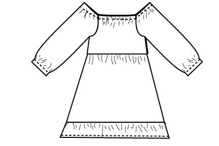 This Flannel Nightgown Sewing Pattern is free and is perfect for holiday pajamas. This sewing project is perfect for making cozy winter pajamas that are cute and feminine. Perfect flannel sewing project for Christmas.