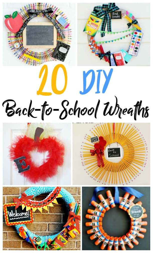 20 Wreaths to Welcome Back to School