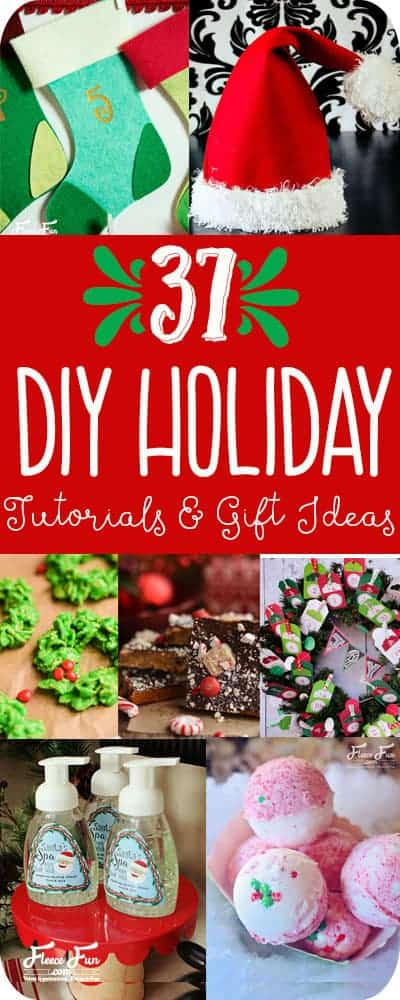I love this collection of DIY Christmas ideas.  Perfect for a handmade holiday.  Many of these tutorials look easy and beginner friendly too.  Perfect Christmas idea.
