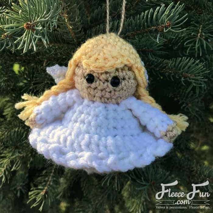 This Angel Handmade ornament DIY (free crochet pattern) is perfect for adding a handmade touch to your Christmas tree. This holiday DIY idea is perfect for Christmas.