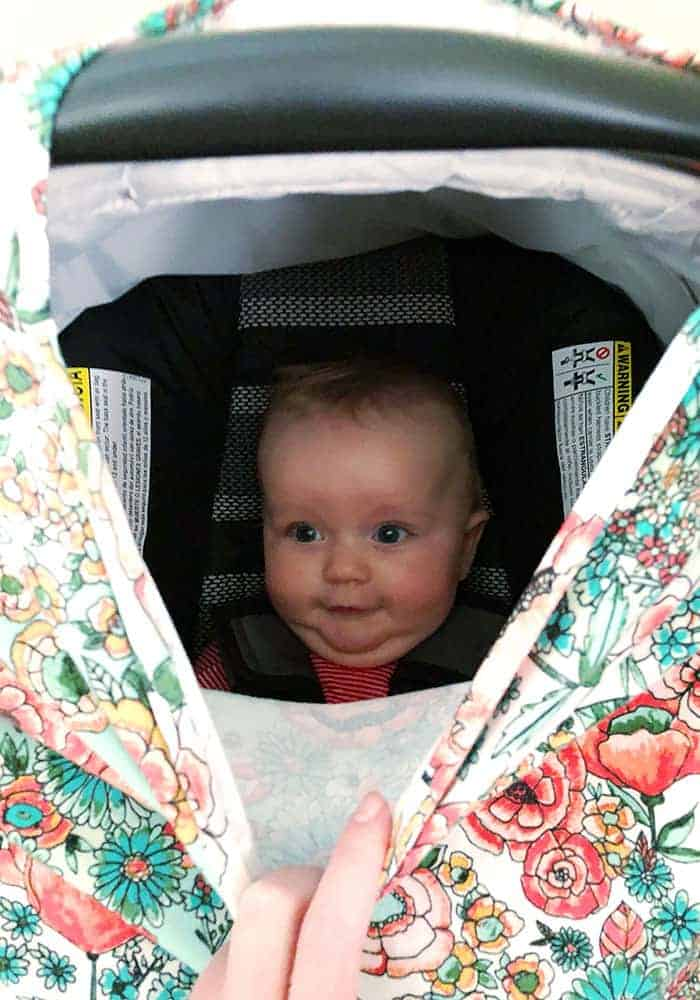 Stretchy Baby Car Seat Cover Pattern, Infant Car Seat Cover Pattern Free