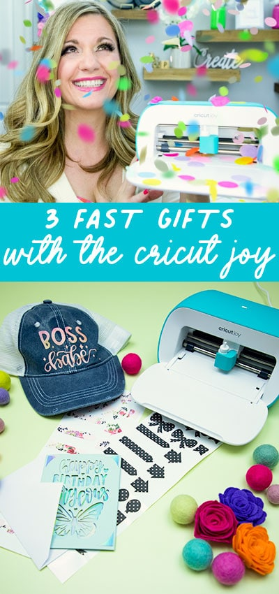 3 Last Minute Gifts with a Cricut Joy - ideas on how you can make a cute gift set in under 20 minutes with a Cricut Joy! #cricutjoy #cricutmade #cricut #cricutmaker #cricutcreated #cricut #cricutmade #cricutexploreair #diy #silhouettecameo #handmade #vinyl #cricutcrafts #svg #htv #svgfiles #custom #cricutcreations #makersgonnamake #silhouette #craft #htvvinyl #crafts #personalized #cricutexplore #crafty #svgfile