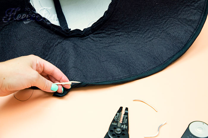 Showing the butt connector on one side of the wire. Learn how to make a witch hat with this free pdf pattern and step by step tutorial. This couture style hat is sure to be a favorite year after year.