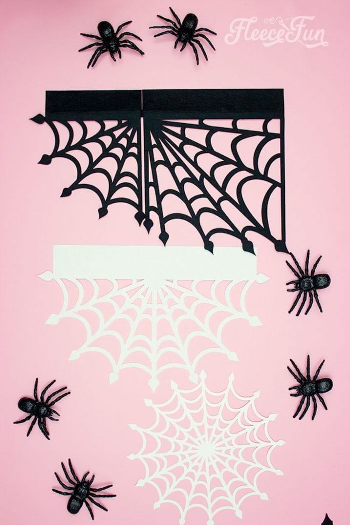 These Spider Web doilies Free SVG files are the perfect finishing touch to you Halloween decor!  The free SVG includes 3 designs for decorating spookiness!