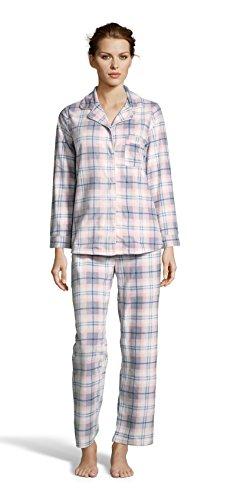 a3540024 Kathy Ireland Womens Fleece Micropolar Button Down Pajama Shirt and Pants  Set