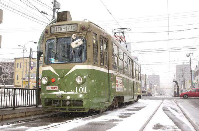 Street Car in Sapporo
