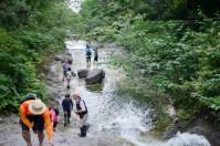 Kamuiwakka Hot Spring Falls(カムイワッカ湯の滝)