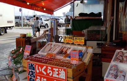 Market in Early Morning: Hakodate Asaichi(函館朝市)