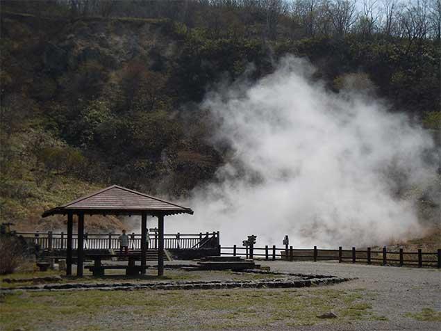 Okunoyu Pond near Ohnumayu