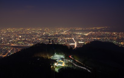 Sapporo Night View from Mt.Moiwayama