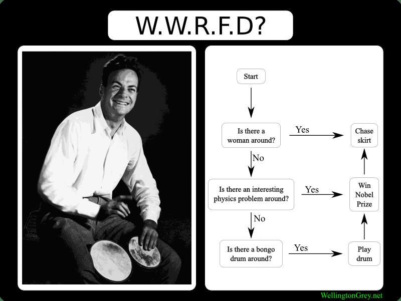 What would Richard Feynman do?
