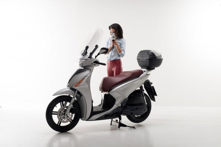 bromfiets scooter Kymco