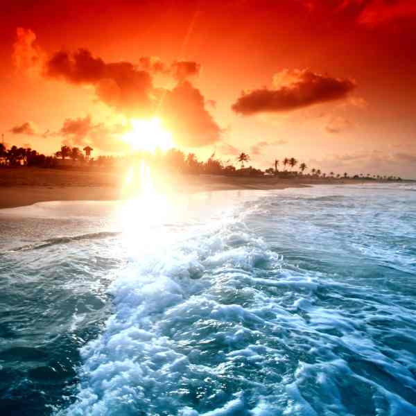 sunsetwaves