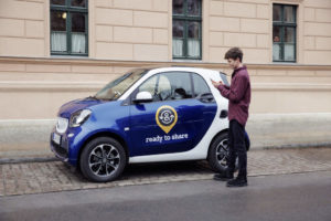 Smart car sharing privato