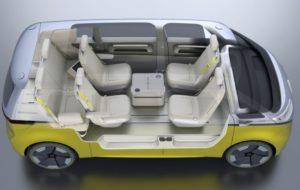 Interni Volkswagen I.D. Buzz