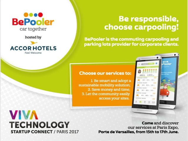 BePooler:  raccoglie a Parigi gli entusiasmi di industrie ed investitori