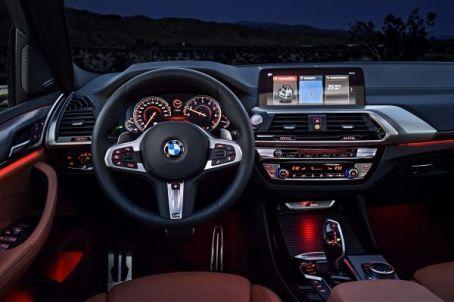 Nuova BMW X3 Interni