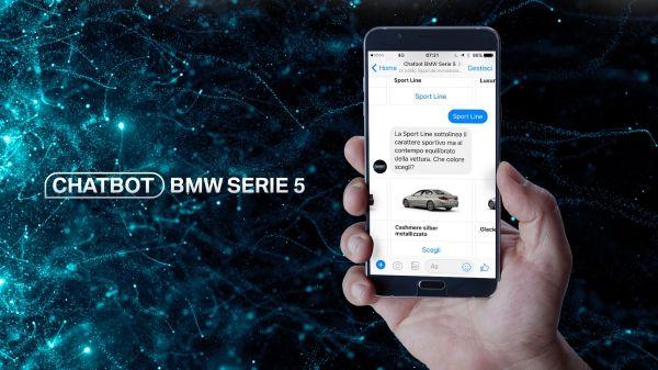BMW Serie 5 chatbot