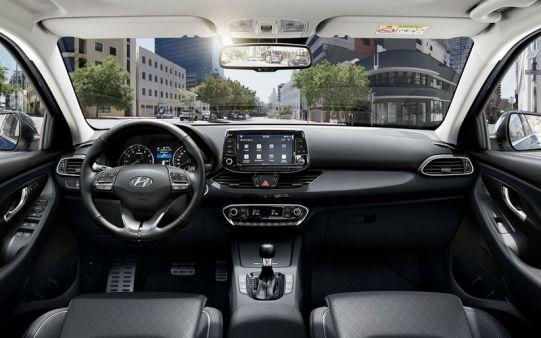 Nuova i30 Wagon interni
