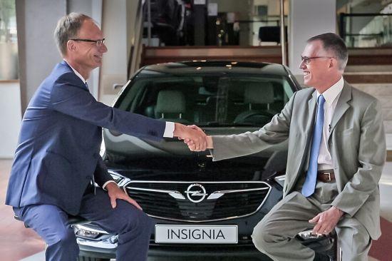 Opel e Groupe PSA