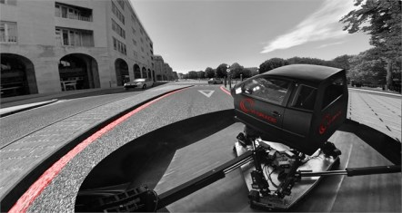 Honda simulatore di guida