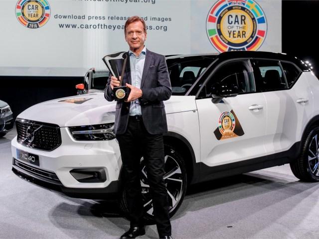 Volvo XC40: Premiata come Auto dell'Anno 2018