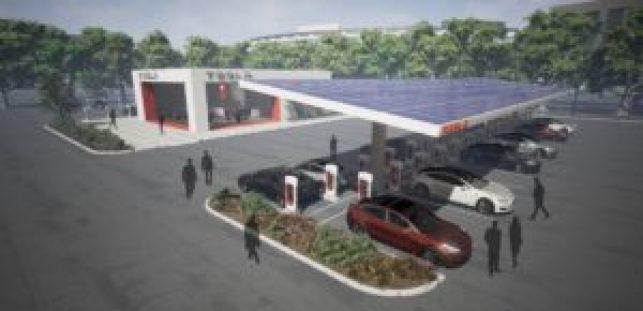 Tesla, Supercharger V3 ricarica rapida, in 5 minuti 120 km