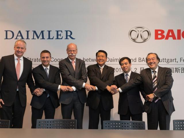 "Daimler il gruppo automobilistico ""più cinese"" fra i brand tedeschi"