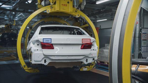 l'intelligenza artificiale nella produzione del gruppo BMW