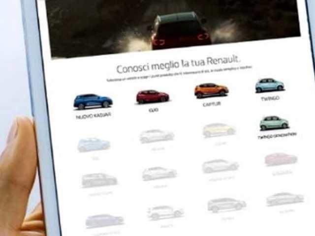 Piattaforma digitale e video tutorial per i clienti Renault