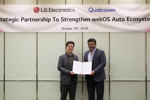 LG e Qualcomm insieme per migliorare l'esperienza automotive