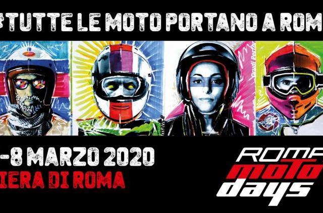 Roma Motodays 2020: tutte le moto portano a Roma, dal 5 all'8 marzo
