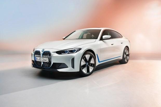 BMW i4 full electric