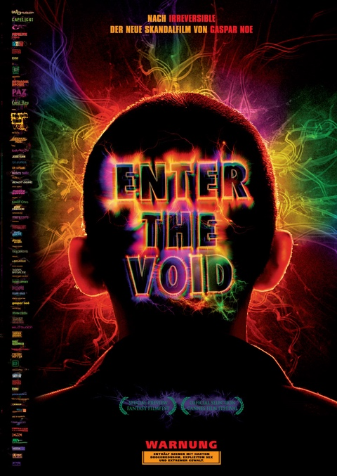 German Poster for Enter The Void