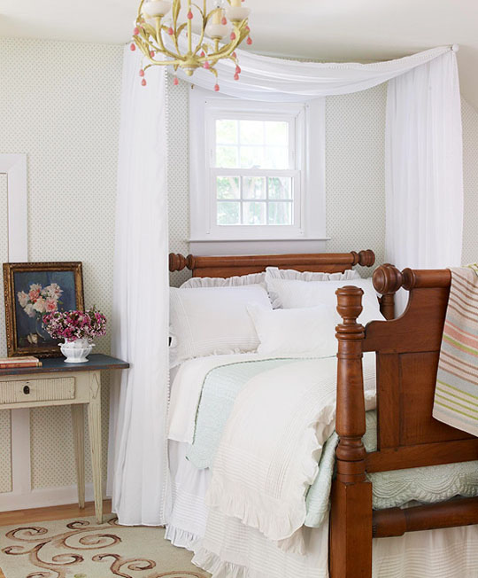 transformer votre lit en baldaquin