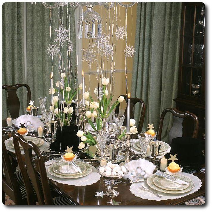 des tables tincelantes pour le jour de l 39 an floriane lemari