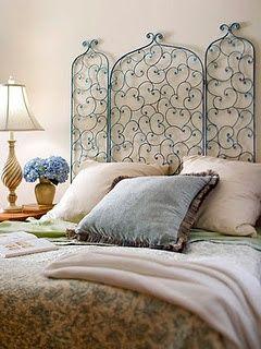 des tetes de lit en metal floriane