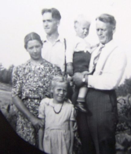 The family c. 1945
