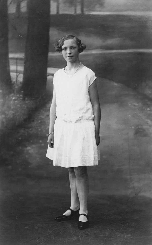 Ester as a teenager