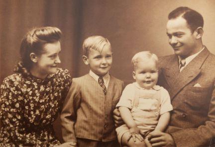 Mille, Karl Kristian, Flemming and Carl Lindblad