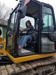 child in excavator - child-in-excavator