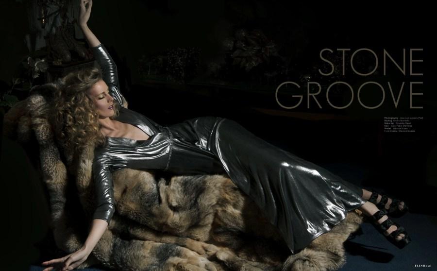 Stone Groove, PHOTO Jose Luis Lozano Platt, STYLING Alvaro Montaño, MAKEUP Eduardo Gaset, HAIR Juan Pablo Martínez, Manouk Kroes